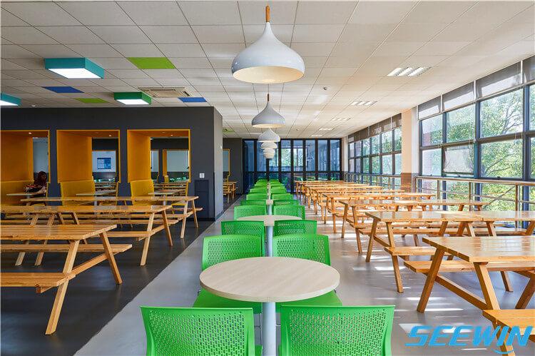 学生餐厅食堂餐桌椅