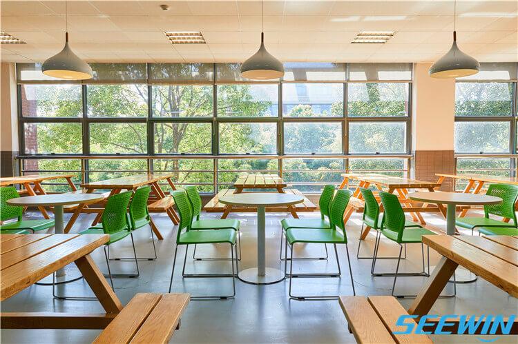 中学餐厅食堂餐桌椅
