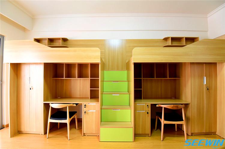 紫竹国际教育集团学生公寓床