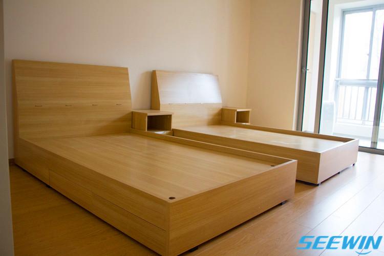 员工宿舍公寓单人床