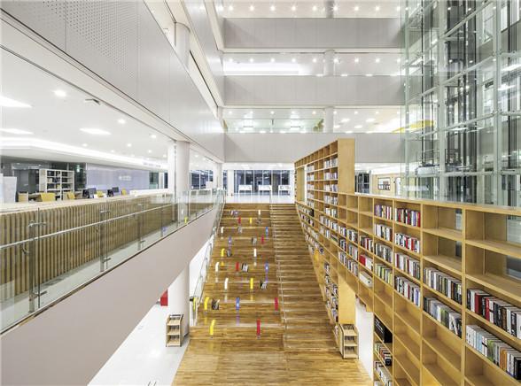 韩国湖西大学图书馆-阅读空间