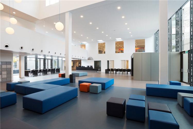 荷兰Ezinge教育园区-公共空间
