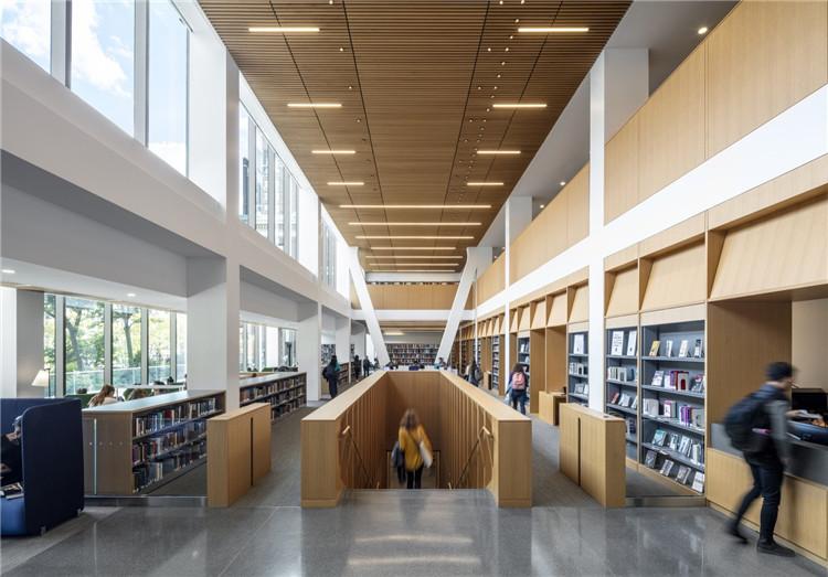 美国巴纳德学院图书馆-阅读空间