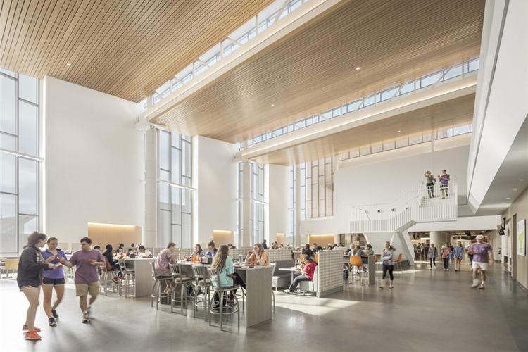 美国克莱姆森大学-餐厅