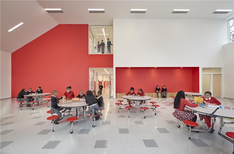 华盛顿APA成功预备学院-餐厅