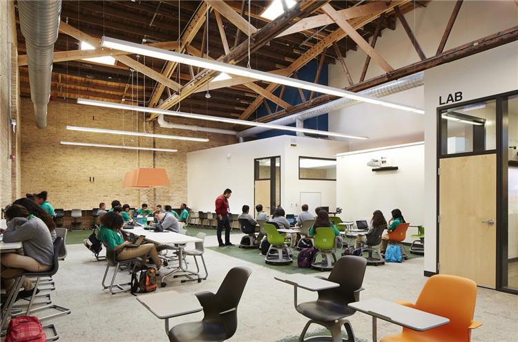 美国芝加哥Intrinsic学校-教学空间