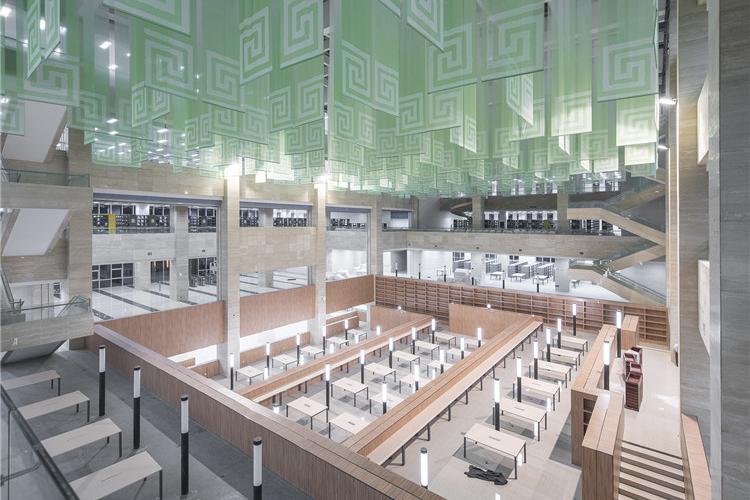武汉理工大学图书馆-阅读空间