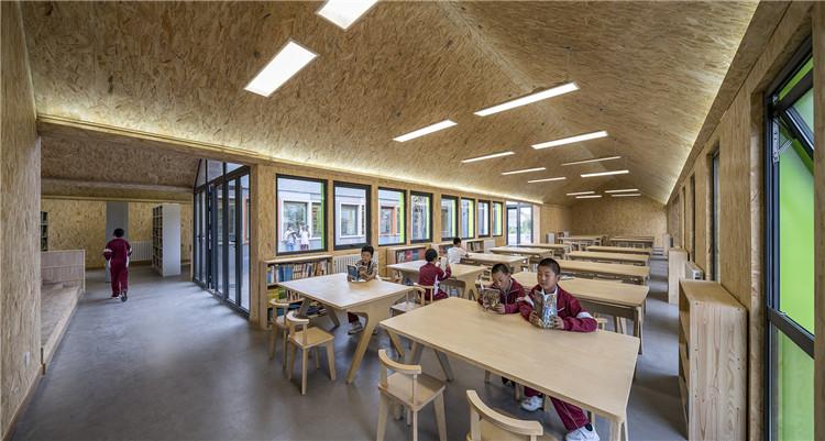 河北二台镇小学图书馆-阅读空间
