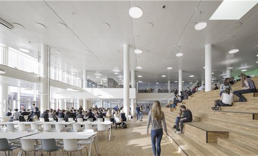 哥本哈根国际学校-餐厅