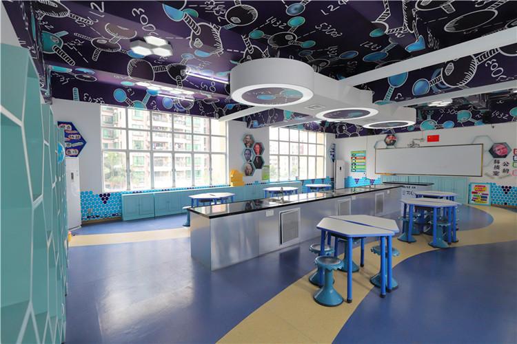 中黄外国语学校-教室家具