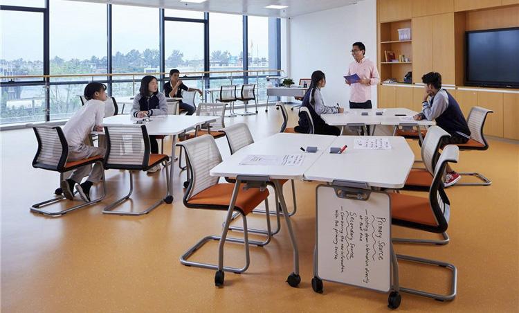 西安梁家滩国际学校-教室家具