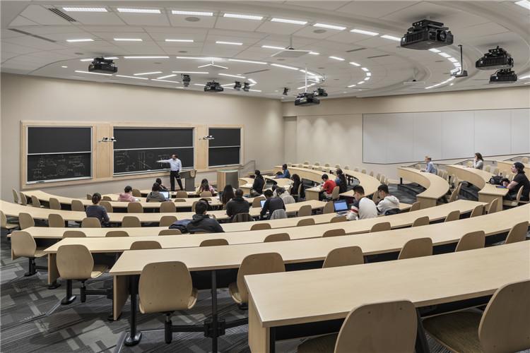 美国罗格斯大学-教室家具