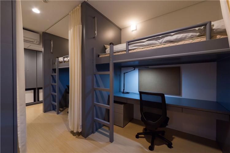 日本城西大学-宿舍家具