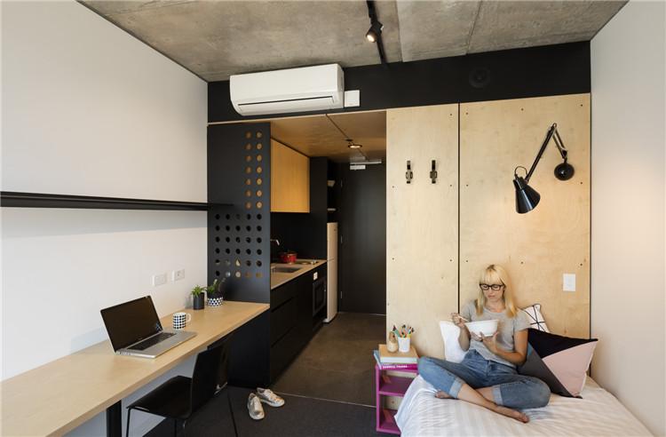 澳大利亚墨尔本皇家理工大学-宿舍家具