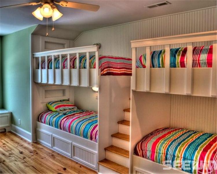 上下铺宿舍床